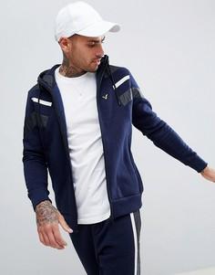 Спортивный худи на молнии Voi Jeans Equinox - Темно-синий