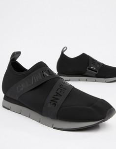Кроссовки с логотипом Calvin Klein Tonio - Черный