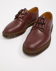 Бордовые ботинки Dr Martens Henton - Красный