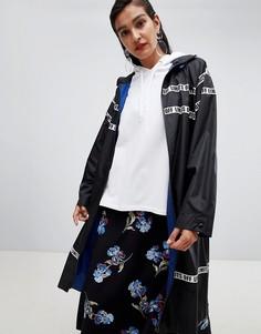 Длинная куртка-дождевик Sportmax Code Off Limits - Черный
