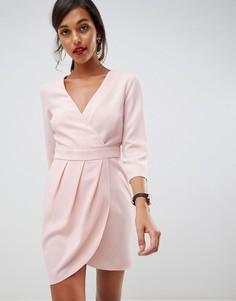 37aebeee1ec Короткие платья с запахом – купить короткое платье в интернет ...