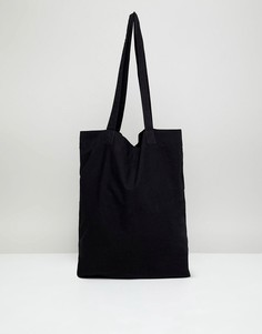 Черная сумка-тоут ASOS DESIGN - Черный