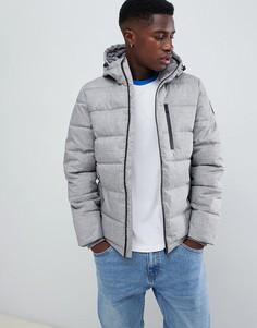 Серая куртка-пуховик Burton Menswear - Серый
