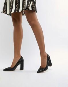 Туфли на каблуке Love Moschino - Черный