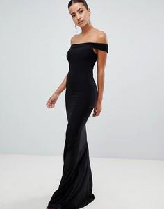 Платье макси Club L - Черный