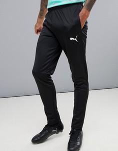 Черные спортивные штаны Puma Football 655933-01 - Черный