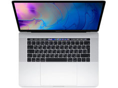Ноутбук APPLE MacBook Pro 15 MR972RU/A Silver (Intel Core i7 2.6 GHz/16384Mb/512Gb SSD/AMD Radeon Pro 560X 4096Mb/Wi-Fi/Cam/15/Mac OS)