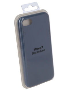 Аксессуар Чехол Innovation Silicone Case для APPLE iPhone 7/8 Blue 10292