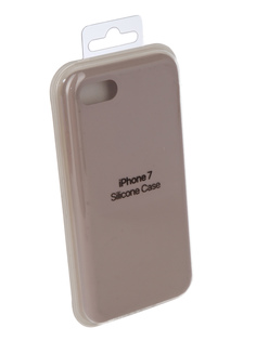 Аксессуар Чехол Innovation Silicone Case для APPLE iPhone 7/8 Light Grey 10280