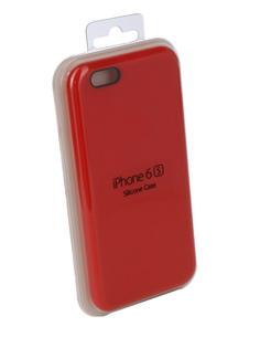 Аксессуар Чехол Innovation Silicone Case для APPLE iPhone 6/6S Red 10262