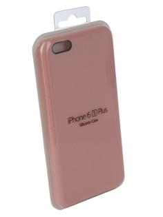 Аксессуар Чехол Innovation Silicone Case для APPLE iPhone 6/6S Plus Pink 10251