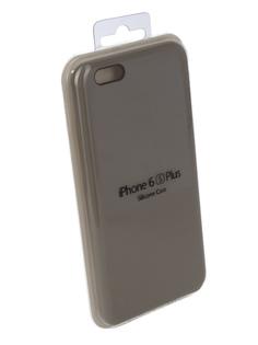 Аксессуар Чехол Innovation Silicone Case для APPLE iPhone 6/6S Plus Light Grey 10246