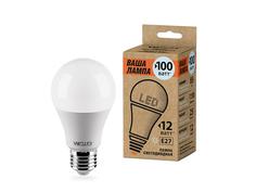 Лампочка Wolta LED A60/12W/4000K/E27 25S60BL12E27-P