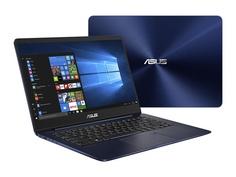 Ноутбук ASUS UX3400UA 90NB0EC5-M13020 Blue (Intel Core i7-7500U 2.7 GHz/16384Mb/512Gb SSD/No ODD/Intel HD Graphics/Wi-Fi/Cam/14.0/1920x1080/Windows 10 64-bit)