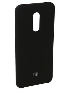 Аксессуар Чехол для Xiaomi Redmi 5 Plus Innovation Silicone Black 11902