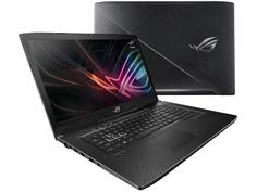 Ноутбук ASUS ROG GL703GM 90NR00G1-M04110 Black (Intel Core i7-8750H 2.2 GHz/8192Mb/1000Gb + 256Gb SSD/No ODD/nVidia GeForce GTX 1060 6144Mb/Wi-Fi/Cam/17.3/1920x1080/DOS)