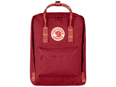 Рюкзак Fjallraven Kanken Deep Red Folk Pattern 23510-325-903