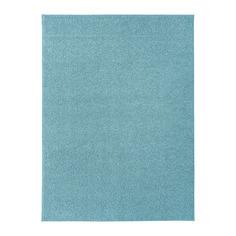 АЛЛЕРСЛЕВ Ковер, длинный ворс, синий Ikea