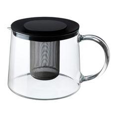 РИКЛИГ Чайник заварочный, стекло Ikea