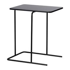 РИАН Придиванный столик, черный Ikea