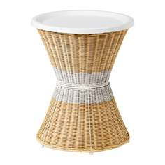 САНДХАУГ Тумба прикроватная, белый Ikea