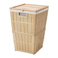 БРАНКИС Корзина для белья с подкладкой Ikea