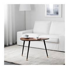 ЛЁВБАККЕН Придиванный столик, классический коричневый Ikea