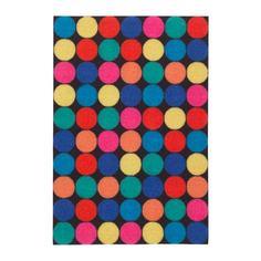 РОРСЛЕВ Придверный коврик, разноцветный Ikea