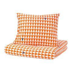 СТИЛЛСАМТ Пододеяльник и 1 наволочка, светло-оранжевый Ikea