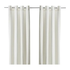 МЕРЕТЕ Гардины, 1 пара, белый Ikea