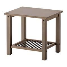 РИКЕНЕ Тумба прикроватная, серо-коричневый Ikea