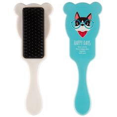 Расческа для волос с ушками MISS PINKY FUNNY ANIMALS голубая