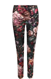 Укороченные брюки с принтом Dolce & Gabbana