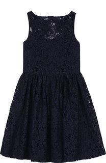 Платье с кружевной отделкой Polo Ralph Lauren