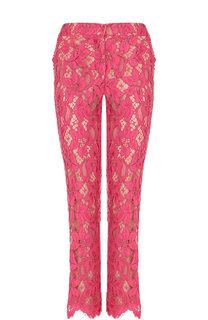 Укороченные кружевные брюки Dolce & Gabbana