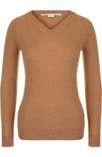 Шерстяной пуловер с V-образным вырезом Stella McCartney