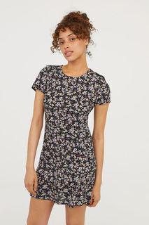 Платье из вискозы с рисунком H&M