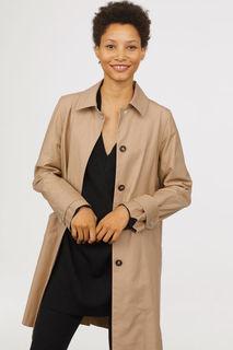 Хлопковое пальто H&M