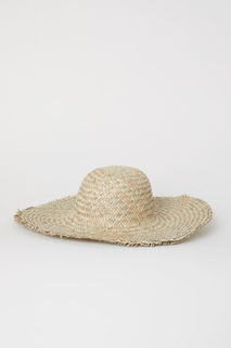 Соломенная шляпа H&M
