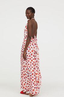 Платье с открытой спиной H&M