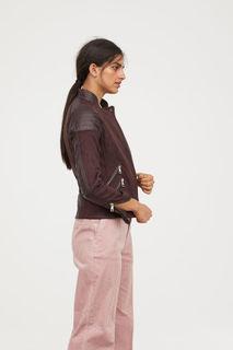 Куртка в байкерском стиле H&M