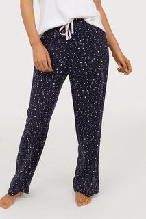 Пижамные брюки с рисунком H&M