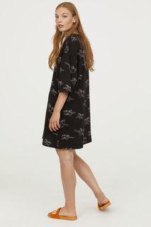 Платье-футболка оверсайз H&M