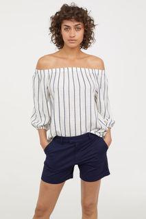 Короткие шорты чиносы H&M