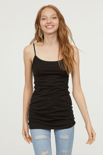 Длинная трикотажная сорочка H&M