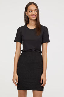 Жаккардовая юбка H&M