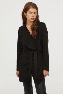 Пальто с драпировкой H&M