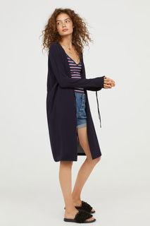 Креповое пальто H&M