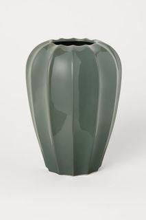 Высокая керамическая ваза H&M