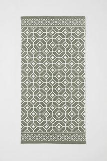 Хлопковый коврик с рисунком H&M